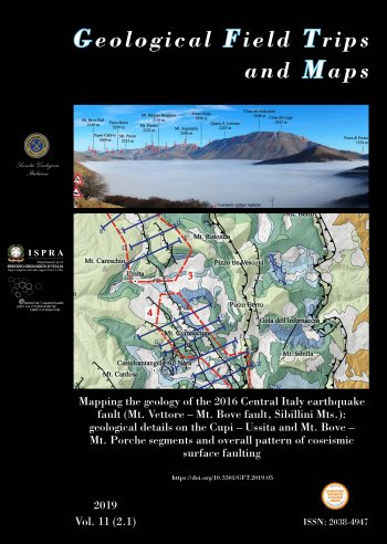 Geological Field Trips and Maps - vol. 2.1 2019